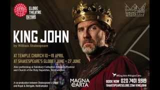 King John by William Shakespeare - performing around the UK