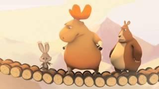 Мультфильм для детей про бегемота и его друзей.