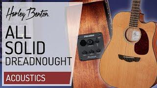 Harley Benton - CLD-30SCM-CE Solid Wood - Acoustic Guitar - Presentation -
