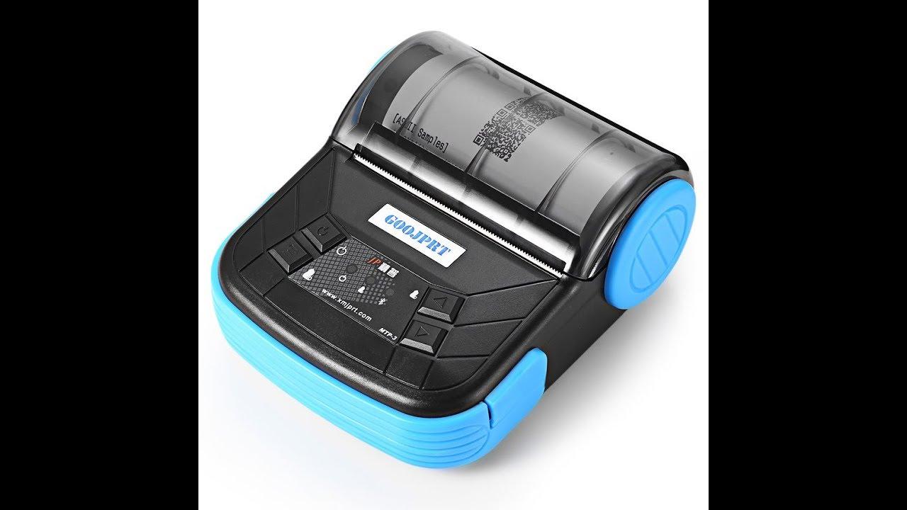 200d1f101 Review Mini Portable Bluetooth Thermal Receipt Printer - MTP-3 - Printer  Keren