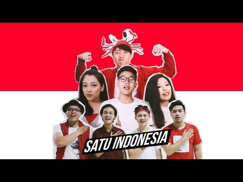 SATU INDONESIA (Official Music Video) With Abibayu, Fav, Luccas, Victoria, Yolanda