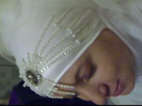 accessoire voile hijab blanc