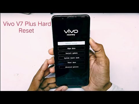 Vivo V7 Plus Hard Reset Done || Unfortunately Accept Pattern Unlock