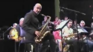 Michael Brecker Den Haag 2003 – Rehearsal with Big Band