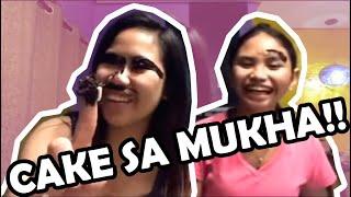 LAGAYAN NG CAKE SA MUKHA! Ft. Yen Quirante || Kasoy Sisters | Lie Reposposa