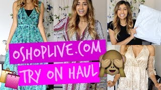 OSHOPLIVE.COM UNBOXING - FIRST IMPRESSION - TRY ON HAUL