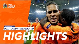 Highlights: Duitsland - Nederland (19/11/2018) Nations League