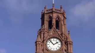 Barrow-in-furness Town Hall Clock