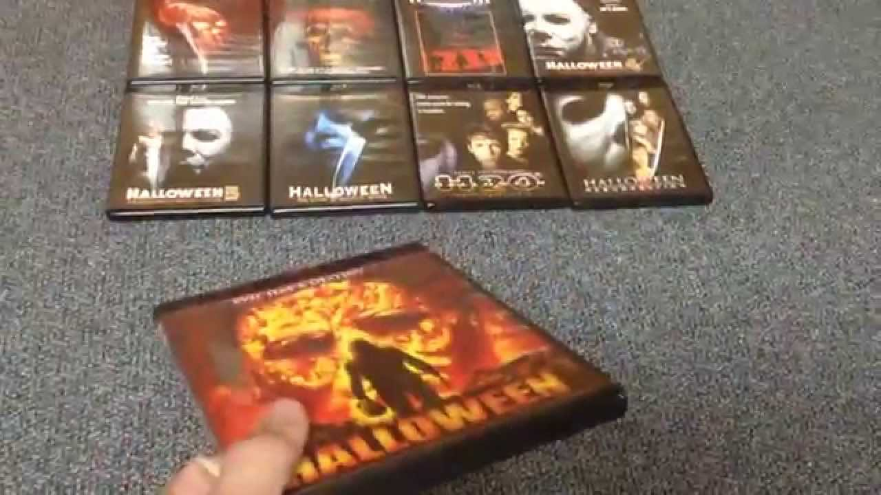 "halloween: ""the complete collection"" dvd blu-ray box set - youtube"