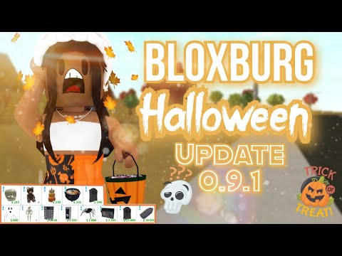 When Is The Christmas Udate Coming Out In Bloxburg ? 2020 BLOXBURG HALLOWEEN UDATE | 0.9.1   YouTube
