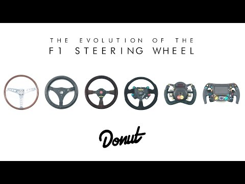 How Formula 1 Steering Wheels Have Evolved Since the 1950s