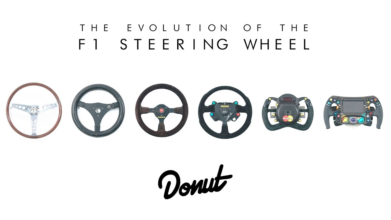 The Evolution Of F1 Steering Wheels Donut Media Formfollowsfunction You
