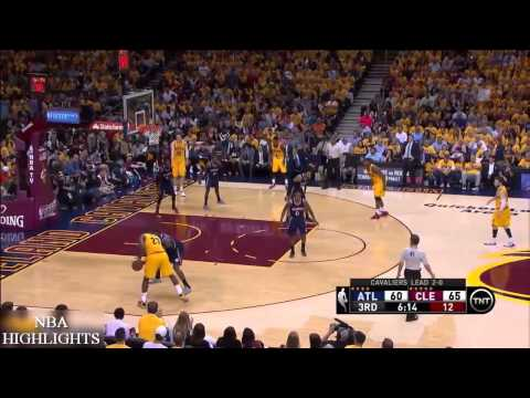 Atlanta Hawks vs Cleveland Cavaliers - Full Highlights | Game 3 | May 24, 2015 | NBA Playoffs