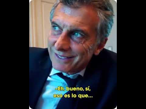 La puesta en escena de Macri al llamar a una vecina