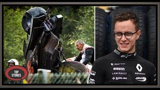 Formula 2 driver Anthoine Hubert dies after 160mph crash at Grand Prix