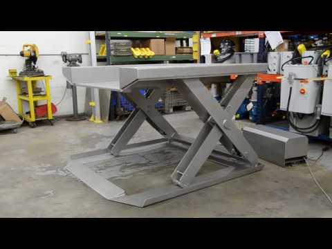 Stainless Steel Floor Level Lift Table