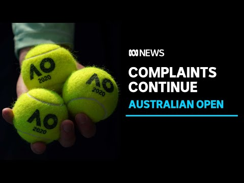 Two tennis players in quarantine return positive COVID tests as complaints continue | ABC News