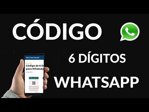 Código de 6 Dígitos para WhatsApp