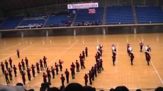 第25回全日本マーチングコンテスト 東北大会 弘前実業高校