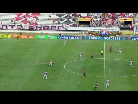 Copa do Nordeste 2017 Santa Cruz 1x0 Náutico Melhores momentos