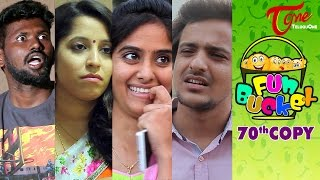 Fun Bucket | 70th Copy | Funny Videos | by Harsha Annavarapu | #TeluguComedyWebSeries thumbnail