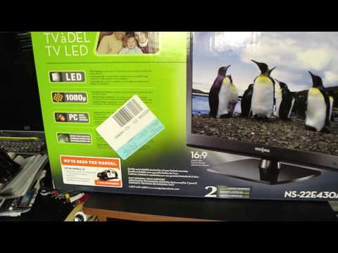 """Insignia 22"""" 1080p LED-LCD HDTV Unboxing!!!!"""