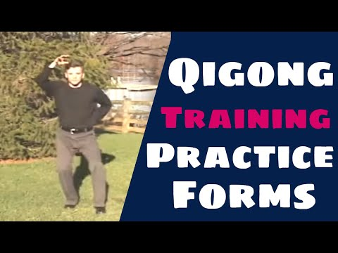 Qigong Exercises Training Demonstration (Chi Kung Practice Forms)