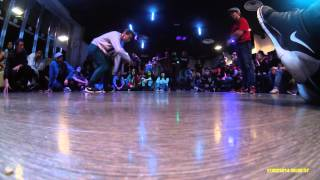 World Bboy Classic Italy 2016 - 1/4 final Bgirl battle - Elettra vs Anti