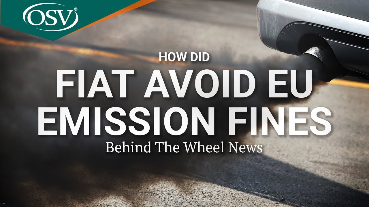 How have Fiat Avoided EU Emission Fines? | OSV Behind the Wheel