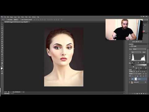 Как использовать уровни и кривые в фотошопе. Урок фотошопа.  Видеоуроки Pro Photoshop