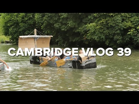 Cambridge Vlog 39 | Cardboard Boat Race