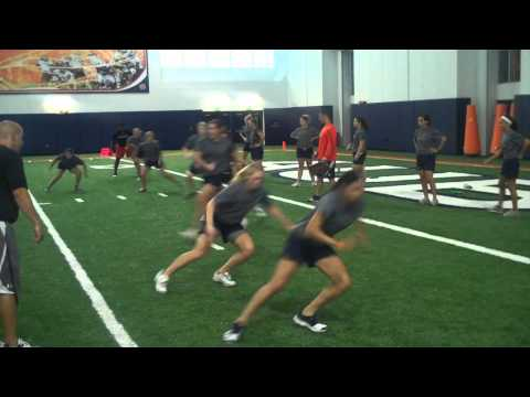 Auburn Softball 8-25-2011 Agility and Conditioning Workout.wmv
