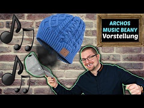 BLUETOOTH MÜTZE 🎵 ARCHOS Music Beany DEUTSCH   Review + Unboxing