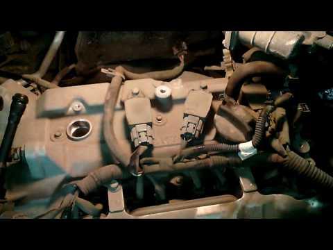 Nissan Juke Замена свечей зажигания.