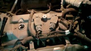 Nissan Juke - Замена свечей зажигания.