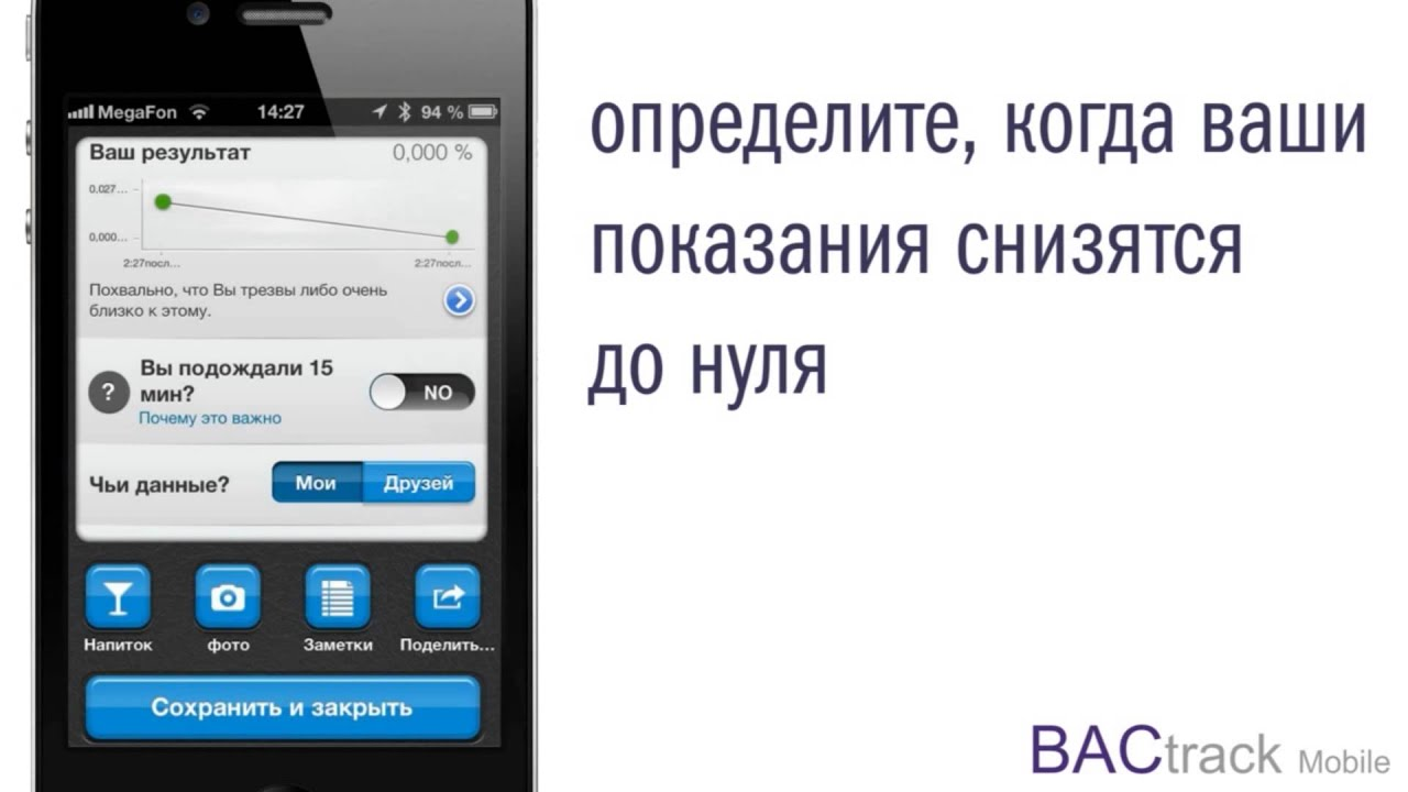 инструкция backtrack breathalyzer на русском