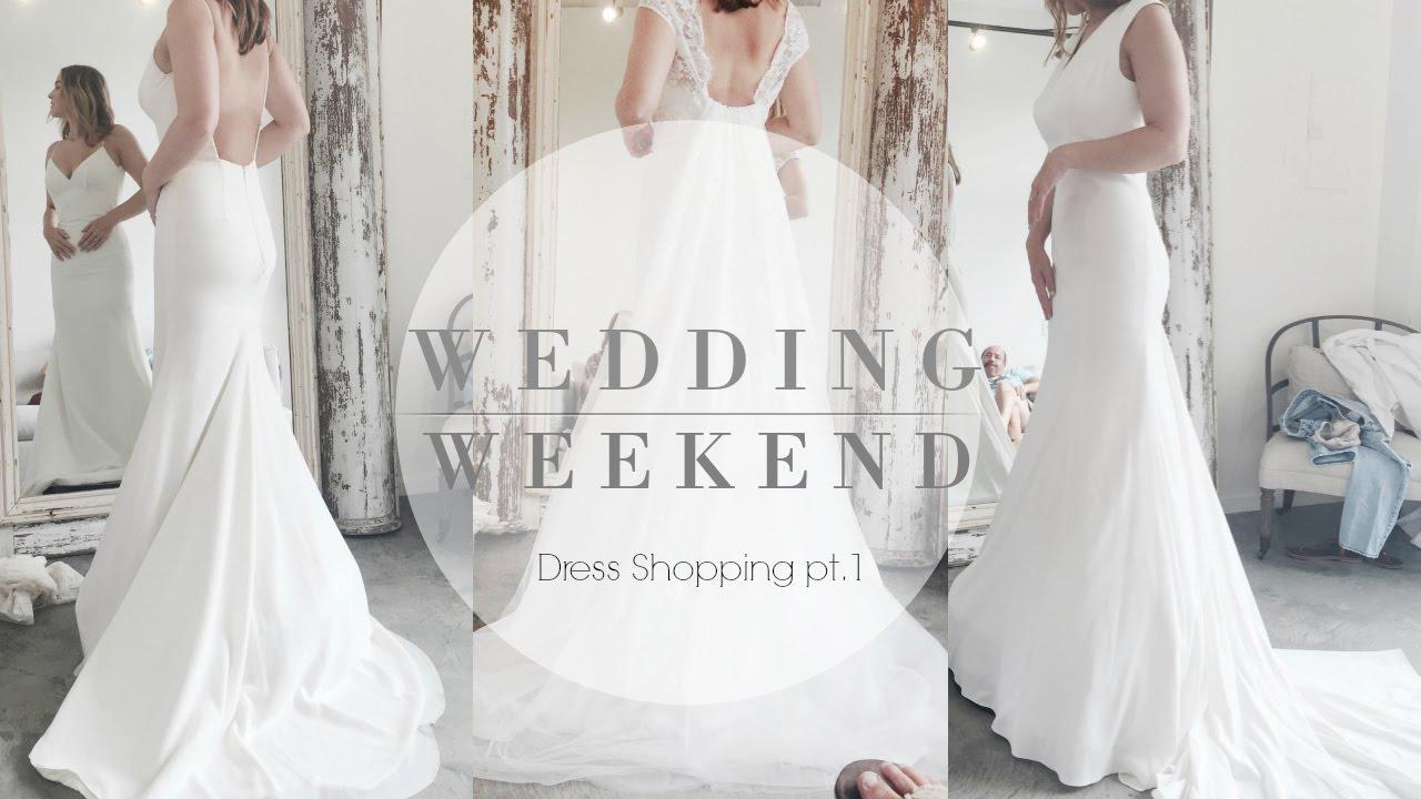 Wedding Weekend: Dress Try On Pt 1 (lela Rose, Hayley Paige & More!)   Youtube