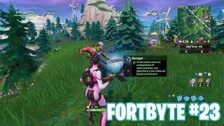 Fortnite Battle Royale ? Fortbyte Challenges How to get the Fortbyte #23
