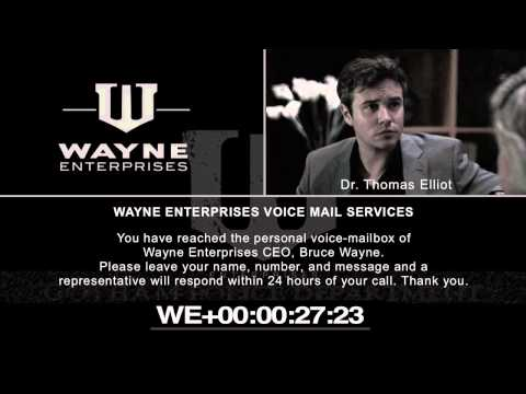 The Joker Blogs - Wayne Enterprises Voice-Mailbox