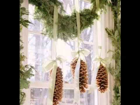 Charmant DIY Christmas Window Decorating Ideas