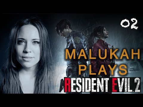 Malukah Plays Resident Evil 2 - Ep. 2