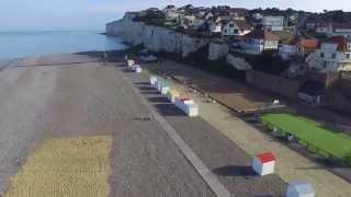 Criel sur mer en Drone