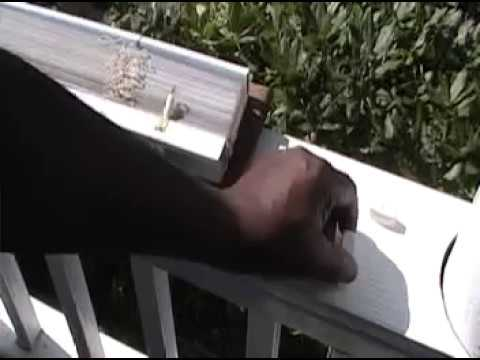 How To Cut Plastic Mini Blinds That Are Too Wide Youtube