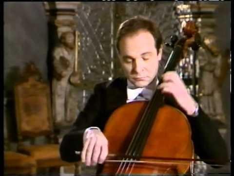 Morten Zeuthen performes Bach's 2.nd solo suite for cello - part 1