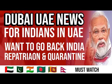 Dubai UAE News For Indian From Go Back To India ...