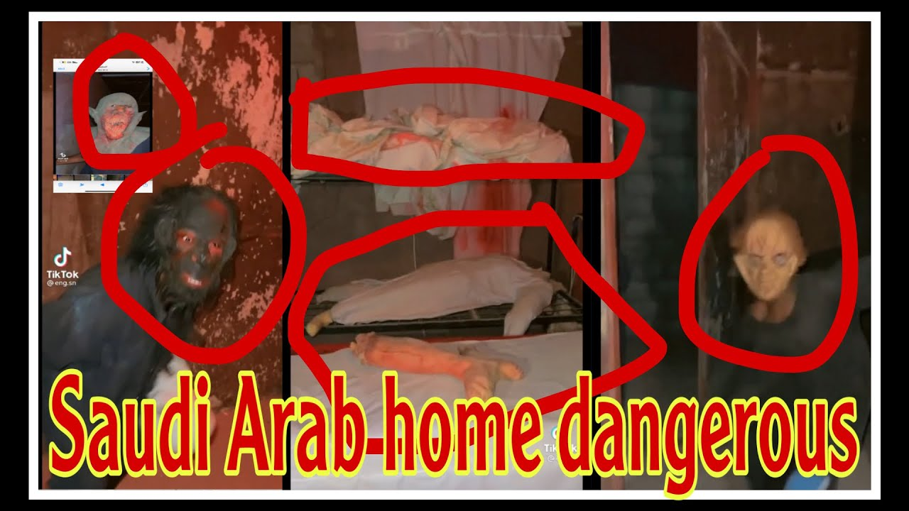 Horrible scene in a house in Saudi Arabia