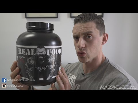 Rich Piana 5% Nutrition Real Food Carbohydrate Supplement Review - MassiveJoes.com Raw Review