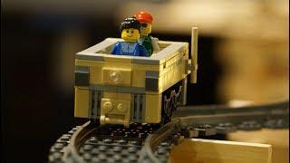 Huge Lego Roller Coaster