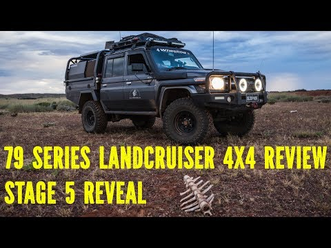 79 series Landcruiser 4x4 Review, stage 5
