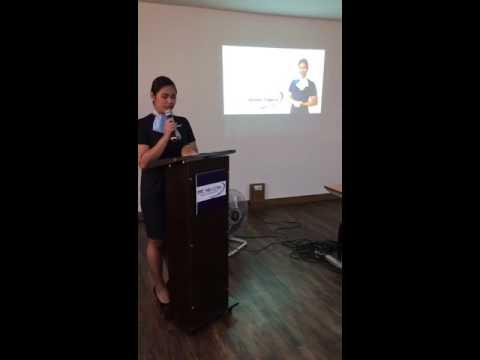 Trainees' graduation speech